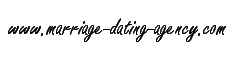 Marriage Dating Agency